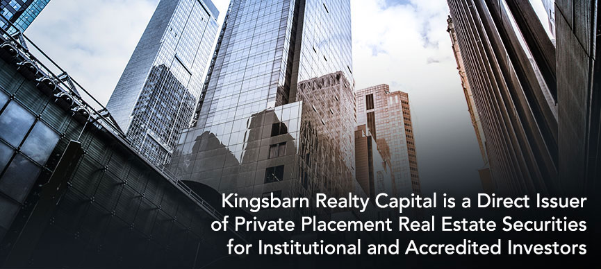 Direct Issuer of Private Placement Real Estate Securities for Institutional and Accredited Investors