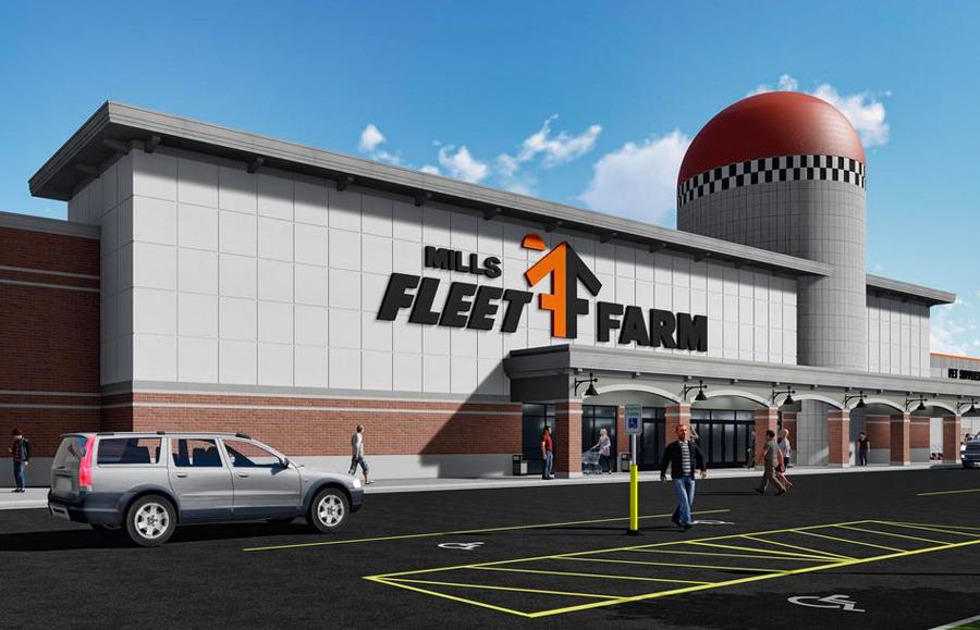Kingsbarn Purchases Retail Center Leased to  Mills Fleet Farm For $55.1 Million